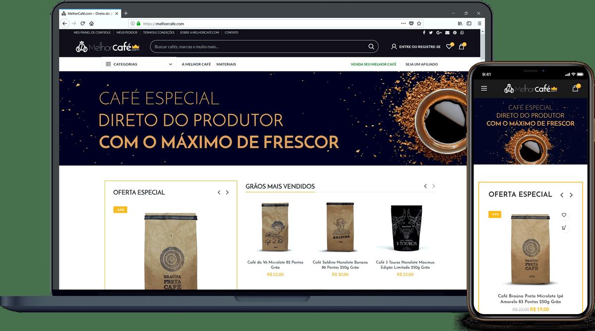 Loja MelhorCafé.com