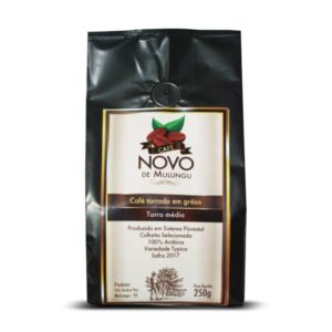 Café Novo de Mulungu em grãos